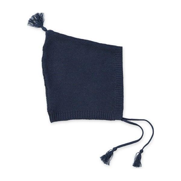 Sabin Knitted Baby Hat, Dark Slate Grey