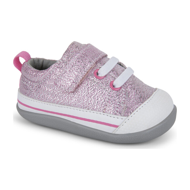 Stevie II First Walker, Pink Glitter