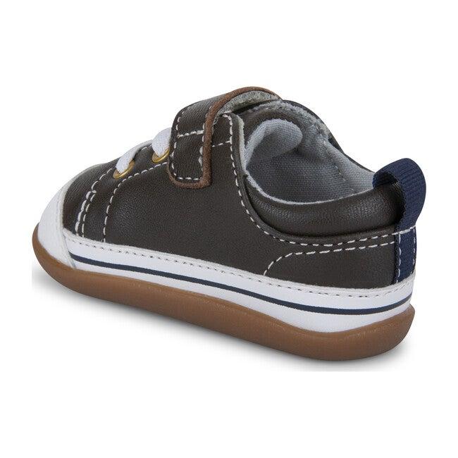 Stevie II First Walker, Brown Leather