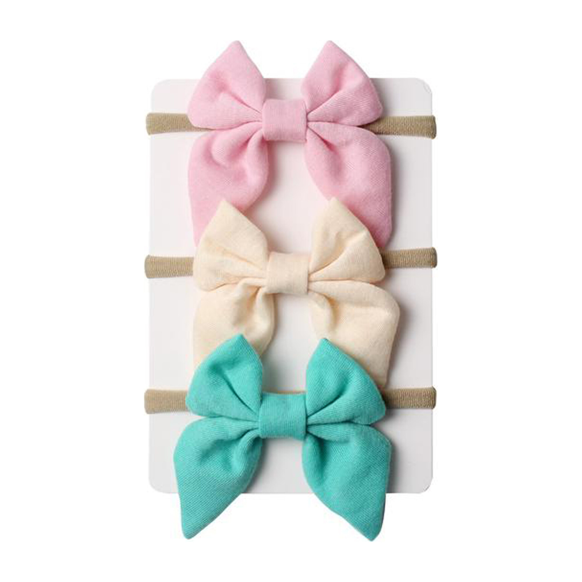 Pastel Mini Bow Headband Bundle