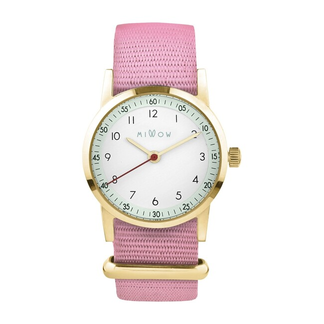 Millow Opale Watch, Pink Dragee and Gold