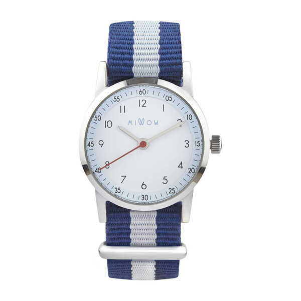 Millow Ciel Watch, Blue and White