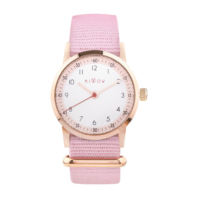 Millow Blossom Watch, Pink Dragee and Rose Gold