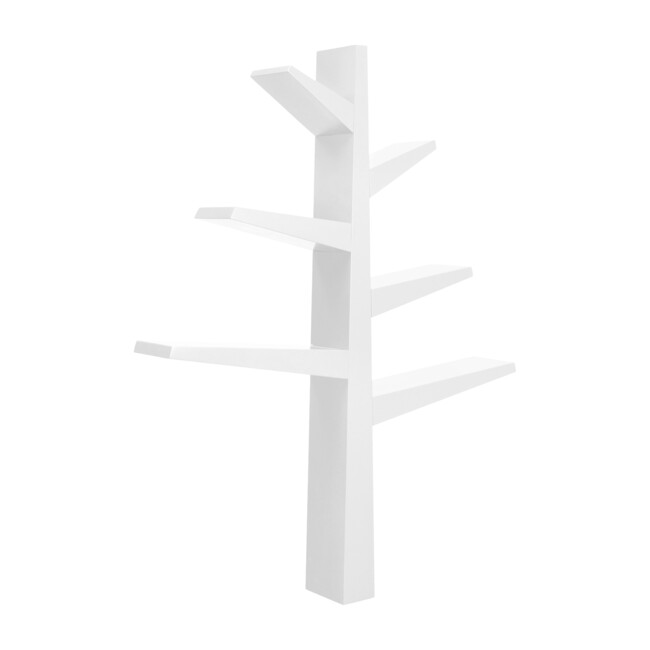Spruce Tree Bookcase, White