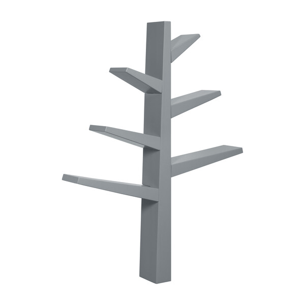Spruce Tree Bookcase, Grey