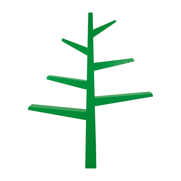 Spruce Tree Bookcase, Green