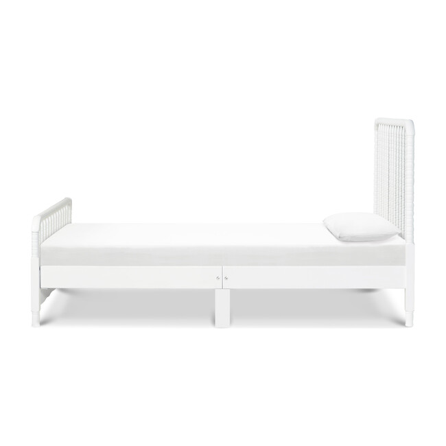 Jenny Lind Twin Bed, White