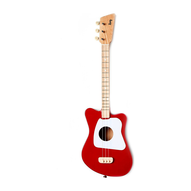 Mini 3-String Guitar, Red