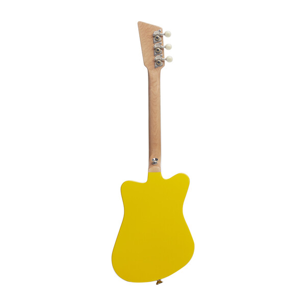 Mini 3-String Guitar, Yellow
