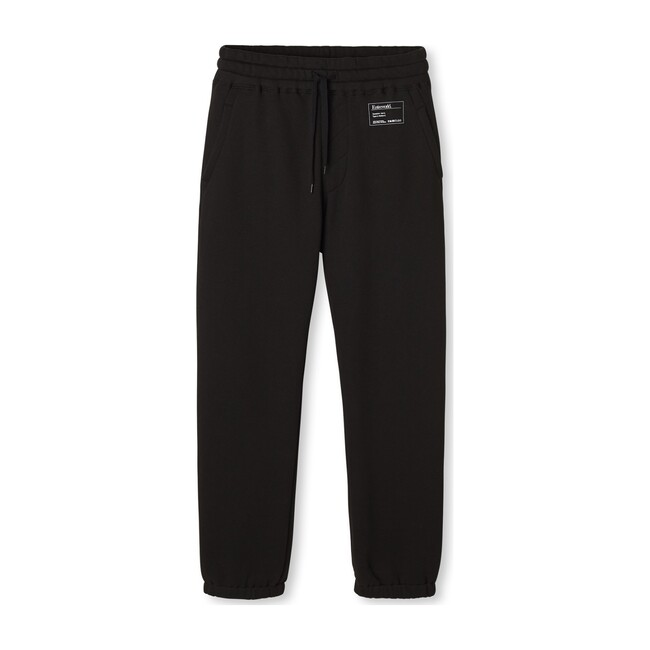Men's Cozy Brushed Sweatpants, Black