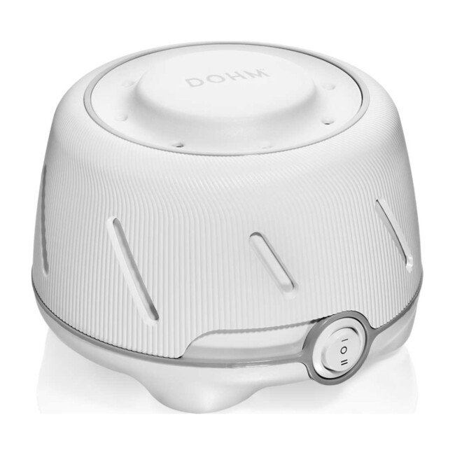 Dohm Natural Sleep Sound Machine, White/Grey