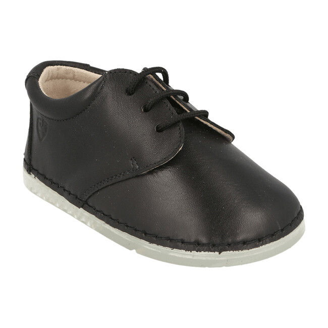 Lorca Lace Up Shoe, Black - Oxfords - 1