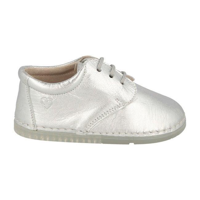 Lorca Lace Up Shoe, Silver