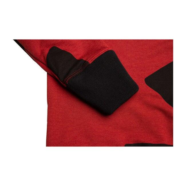 Li'l Jogger Sweatshirt, Red