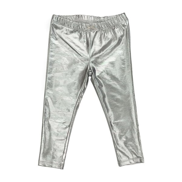 Lame Legging, Silver