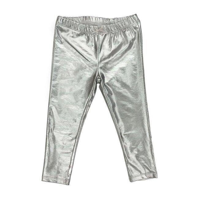 Lame Legging, Silver