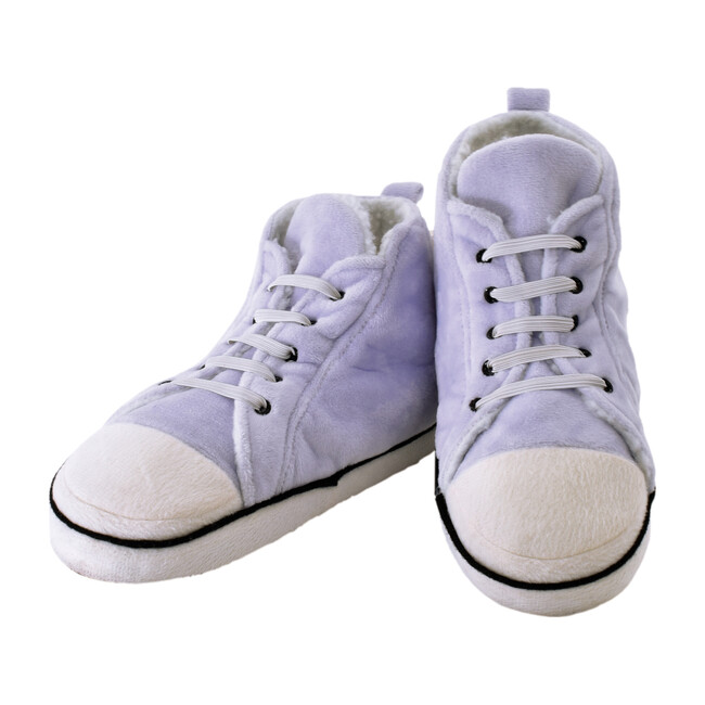 High Top Sneaker Slippers, Purple