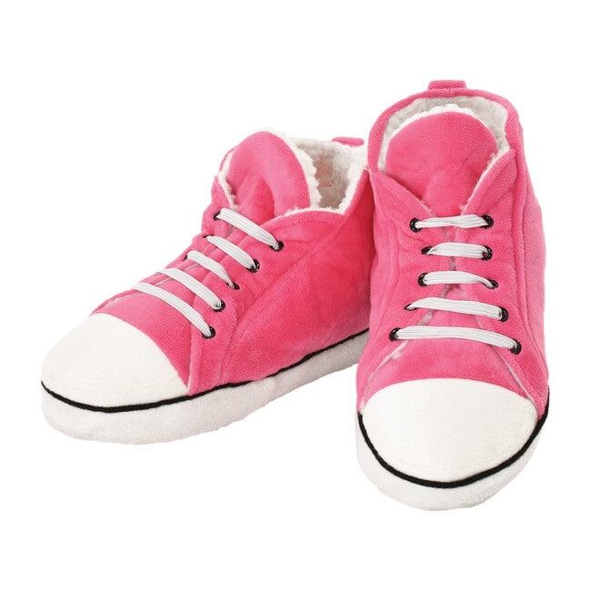 High Top Sneaker Slippers, Pink