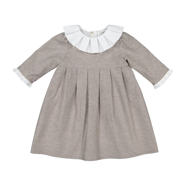 Ines Dress, Chocolat - Dresses - 1