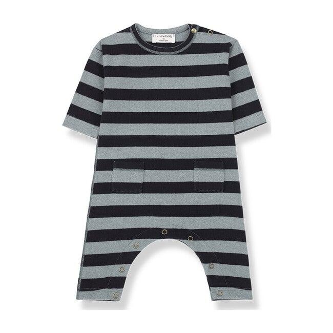 Graz Jumpsuit, Blue Stripe