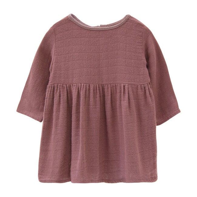 Gauze Prairie Dress, Berry