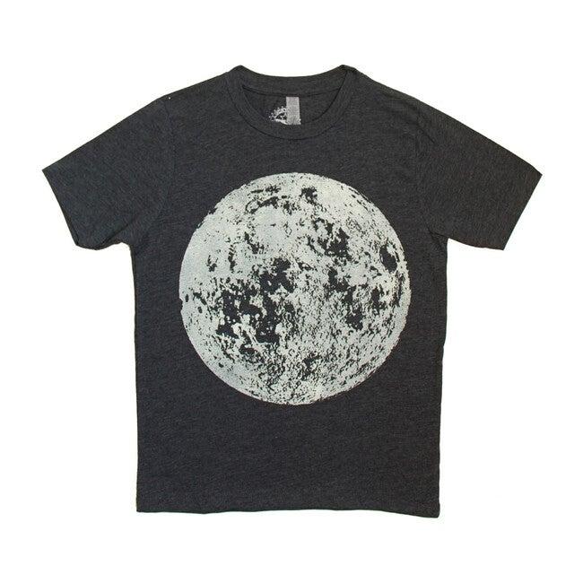 Full Moon Tee, Charcoal