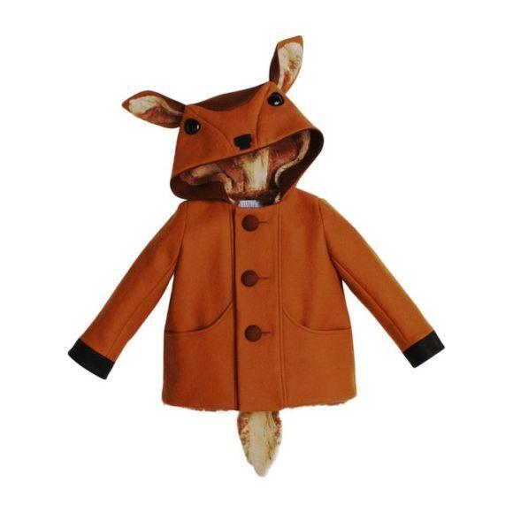 Frolicsome Fawn Coat, Caramel