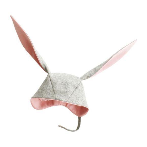 Flopsy Bunny Hat, Grey