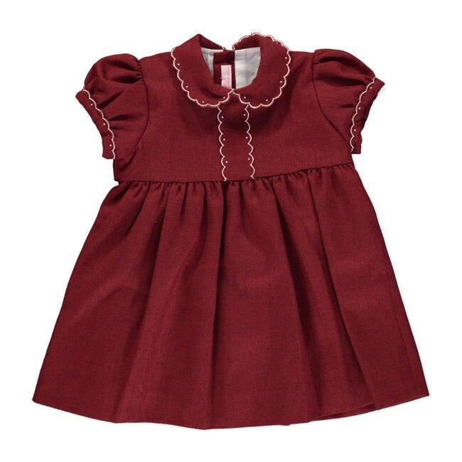 Eleonore Dress, Rust