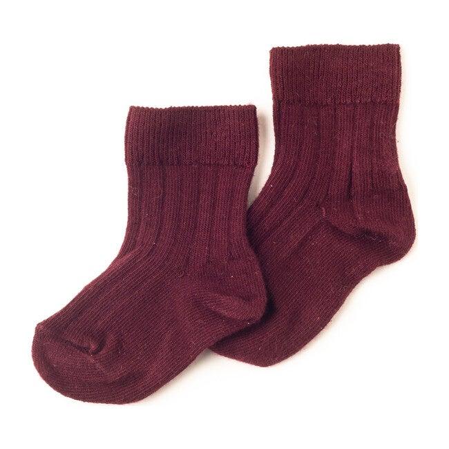 Charlie Socks, Burgundy