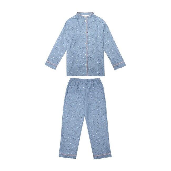 Blossom Pyjamas, Grey Blue