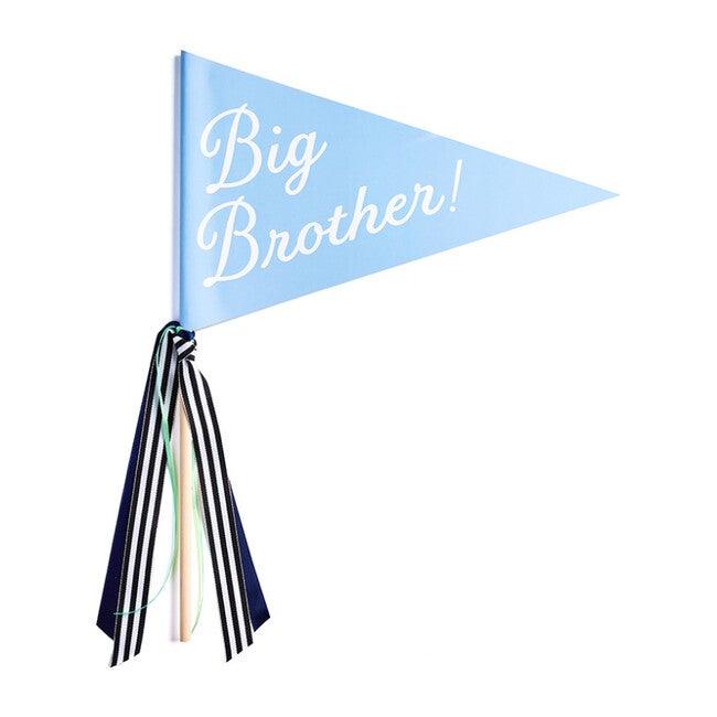 Big Brother Banner, Blue