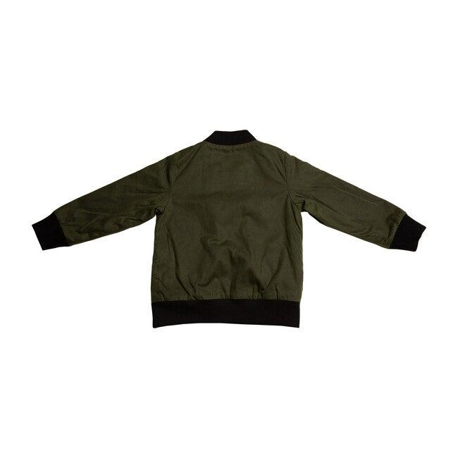 Aviator Zip Jacket, Green
