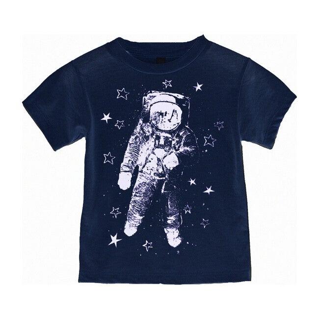 Astronaut Tee, Navy