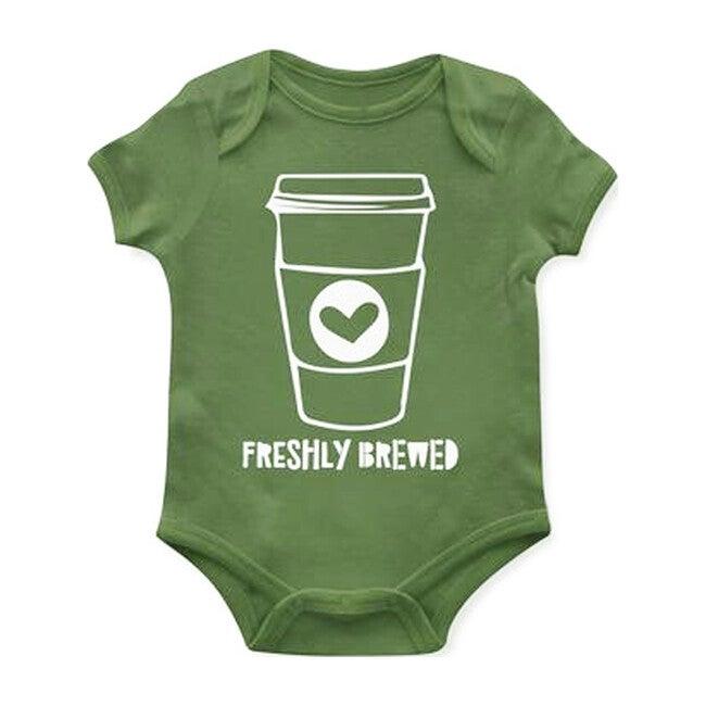 Freshly Brewed Bodysuit, Green