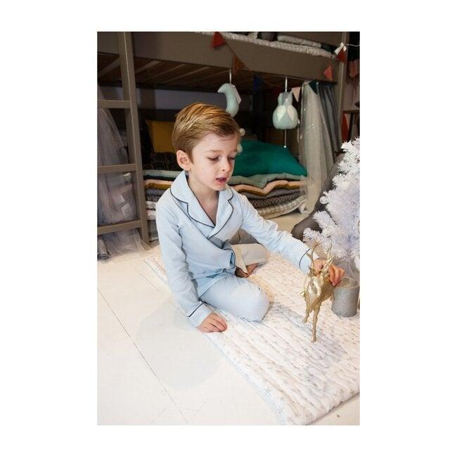 Albert Pyjamas, Blue Stripe