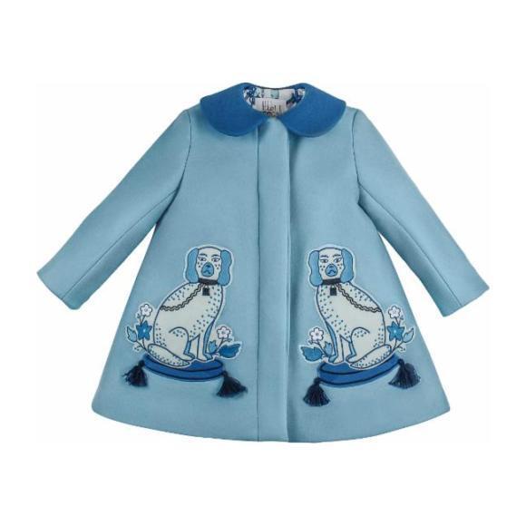 Aldrick & Madame de Bleu Coat, Blue