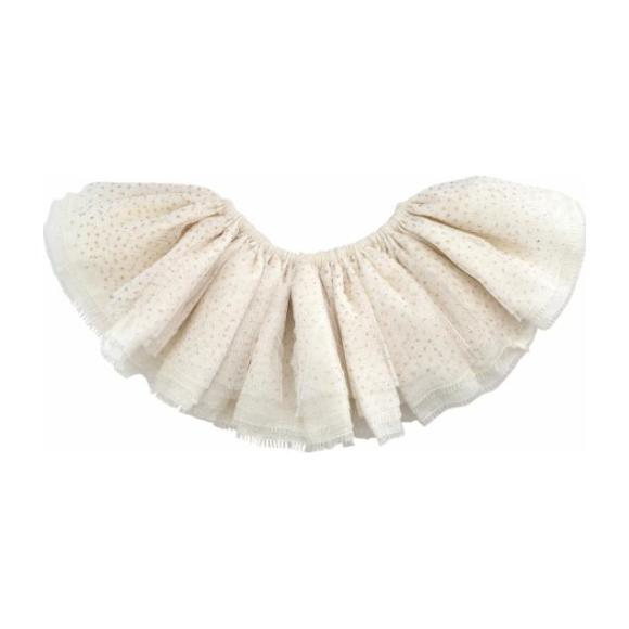 Glinda Fairy Tutu Skirt, Ivory and Gold