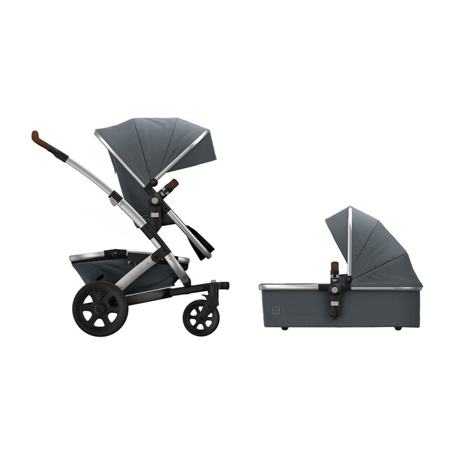 Geo2 Mono Complete Stroller Set, Gorgeous Grey