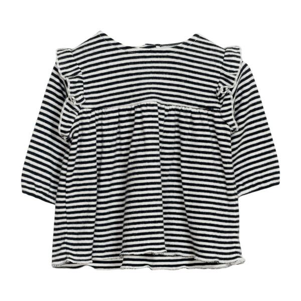 Striped Tunic, Black