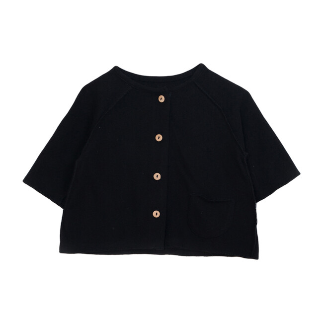 Buttons Top, Black
