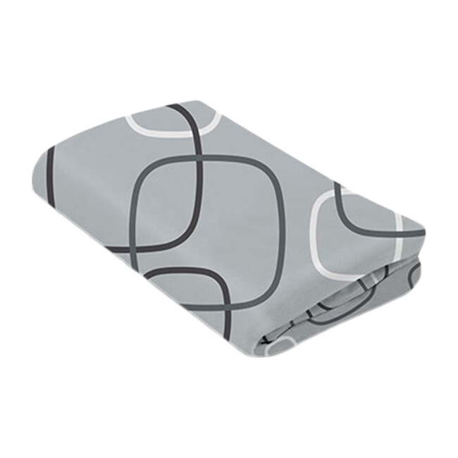 4moms Breeze waterproof bassinet sheets, Silver