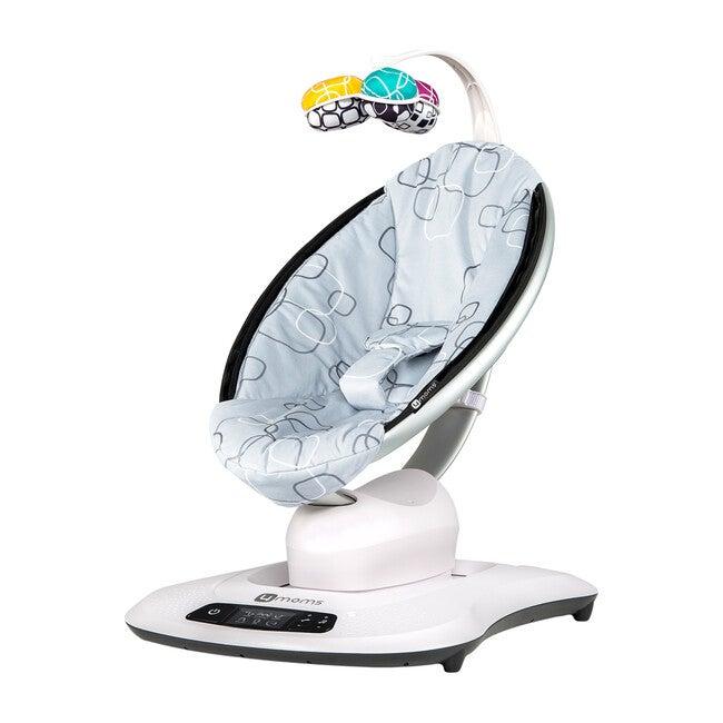 mamaRoo 4 infant seat, Silver Plush