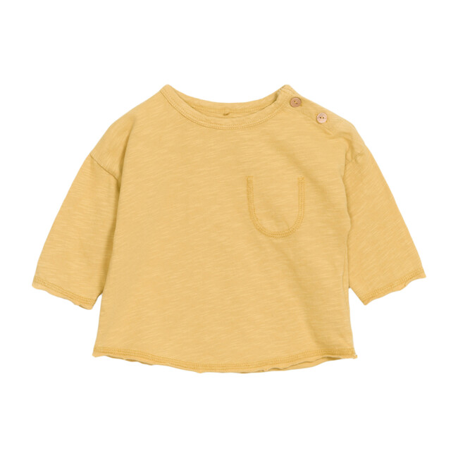 Pocket Tee, Yellow