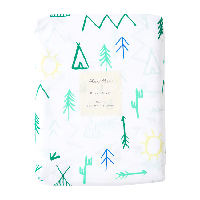Camp Ground Duvet Cover
