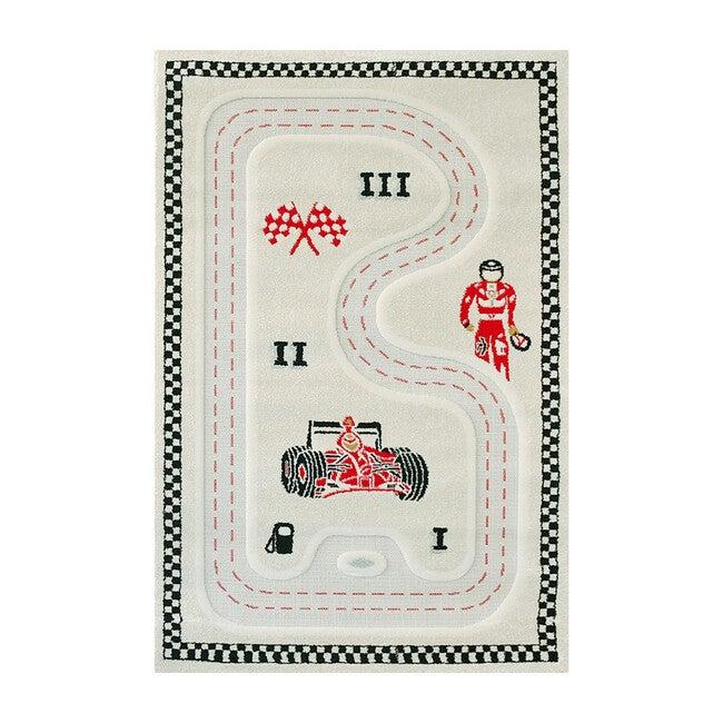 Racer Activity Mat, Cream 100 x 150