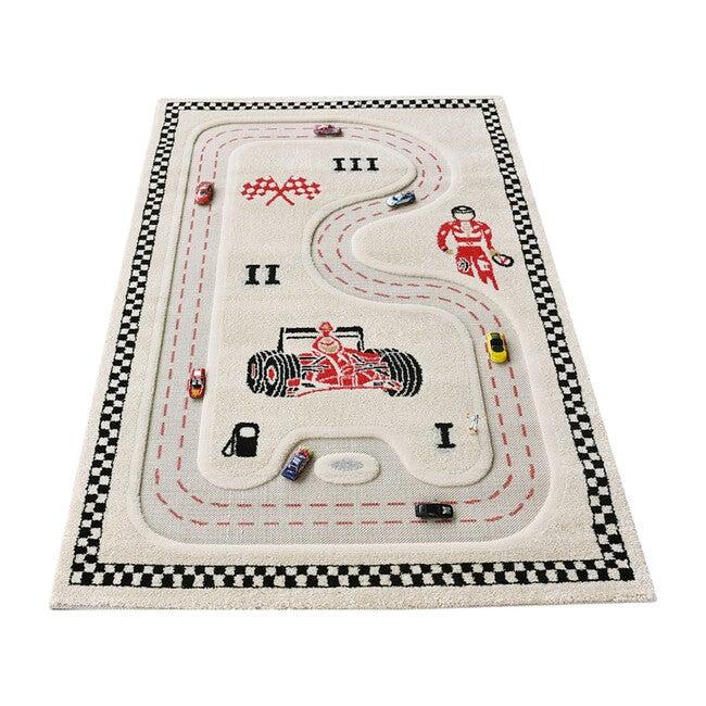 Racer Activity Mat, Cream 134 x 180
