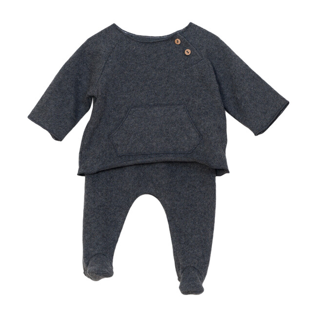 Two Piece Play Set, Charcoal - Mixed Apparel Set - 1