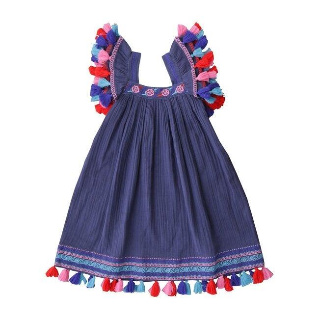 Serena Dress, Indigo