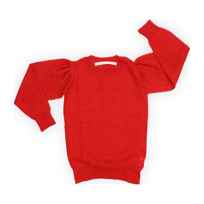 Cashmere Laurel Leaf Sweater